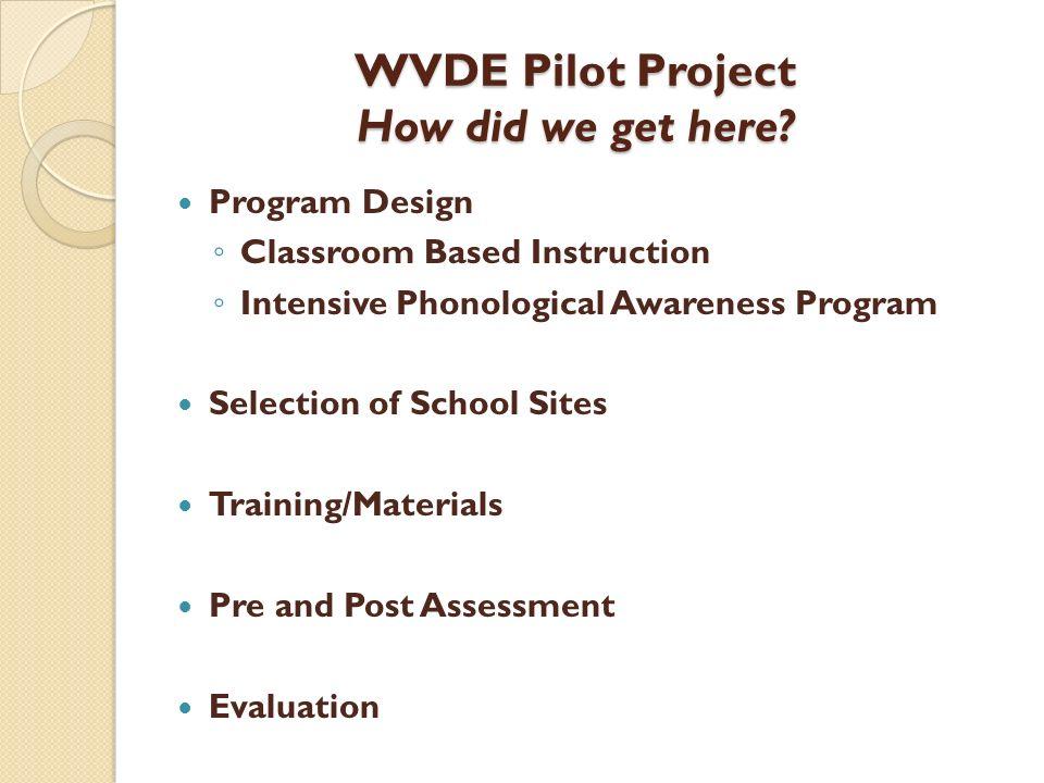 WVDE Instructional Materials