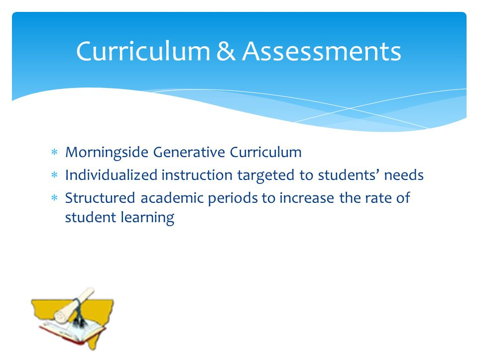 Curriculum & Assessments