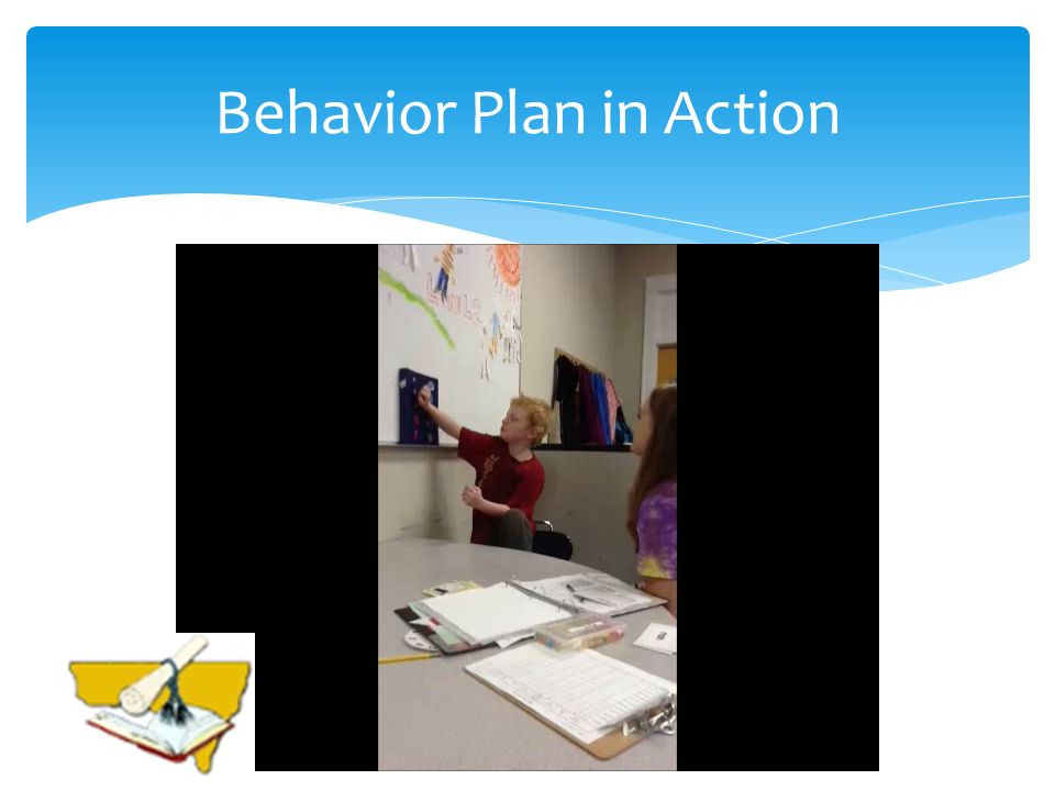 Behavior Plan in Action