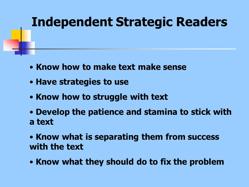 Independent Strategic Readers