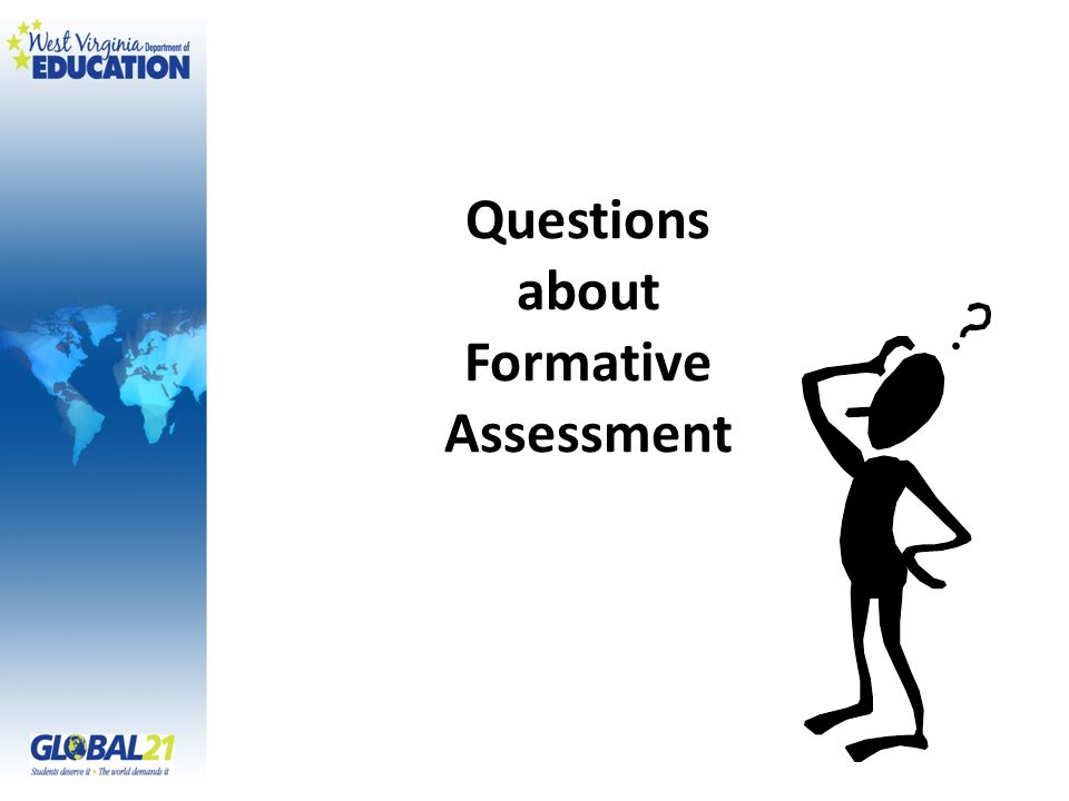 Questions about Formative Assessment