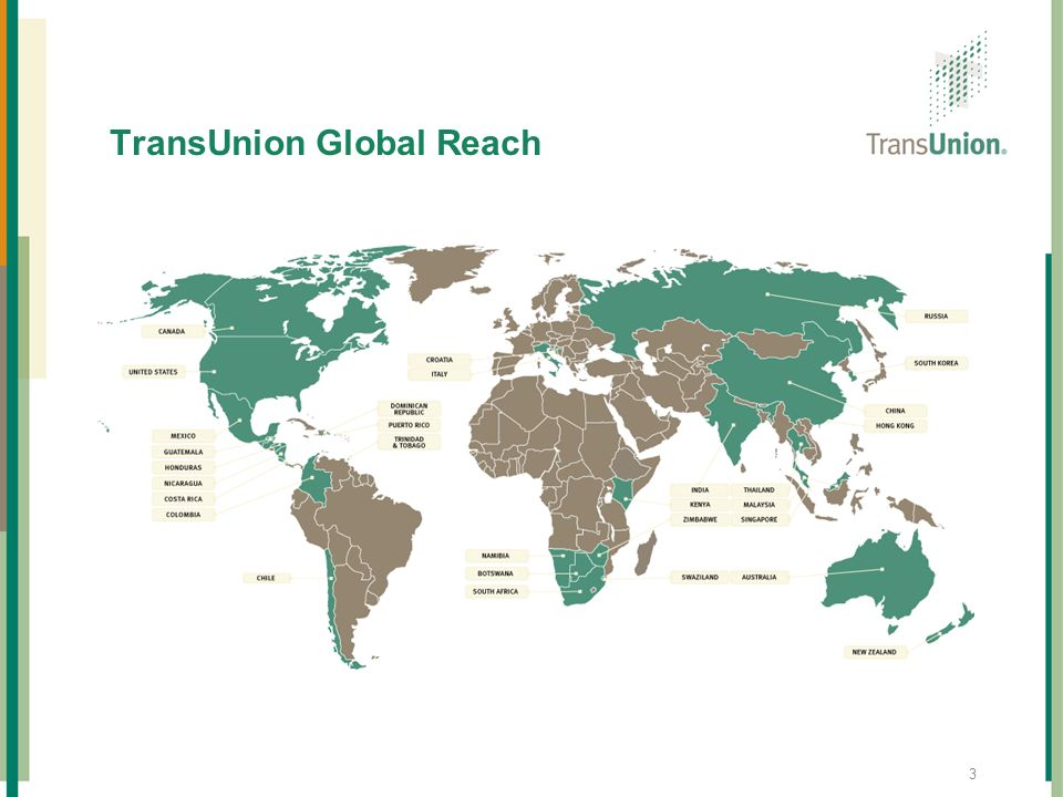 TransUnion Global Reach