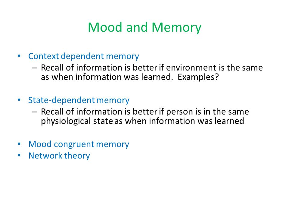 Learning And Memory Can They Be Understood Separately Ppt Video