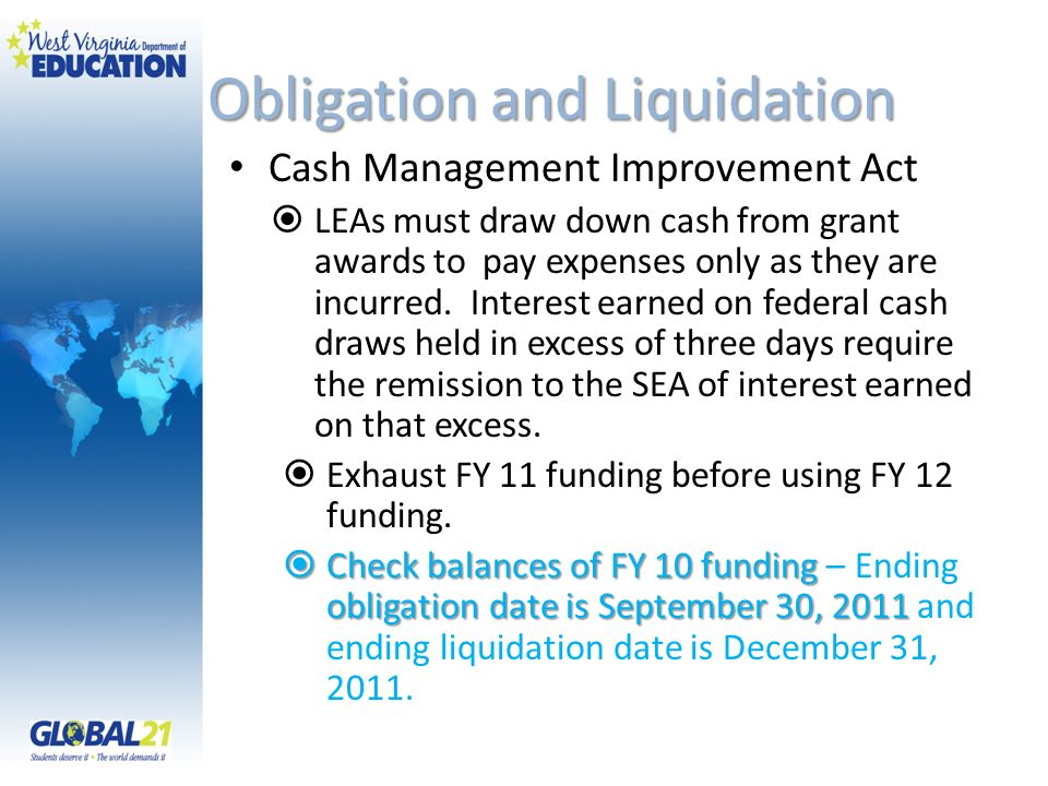 Obligation and Liquidation