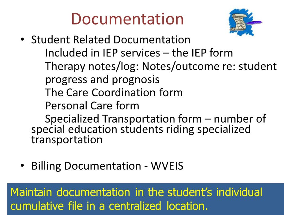 Documentation Student Related Documentation