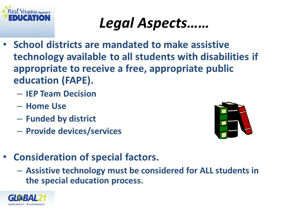 Legal Aspects……