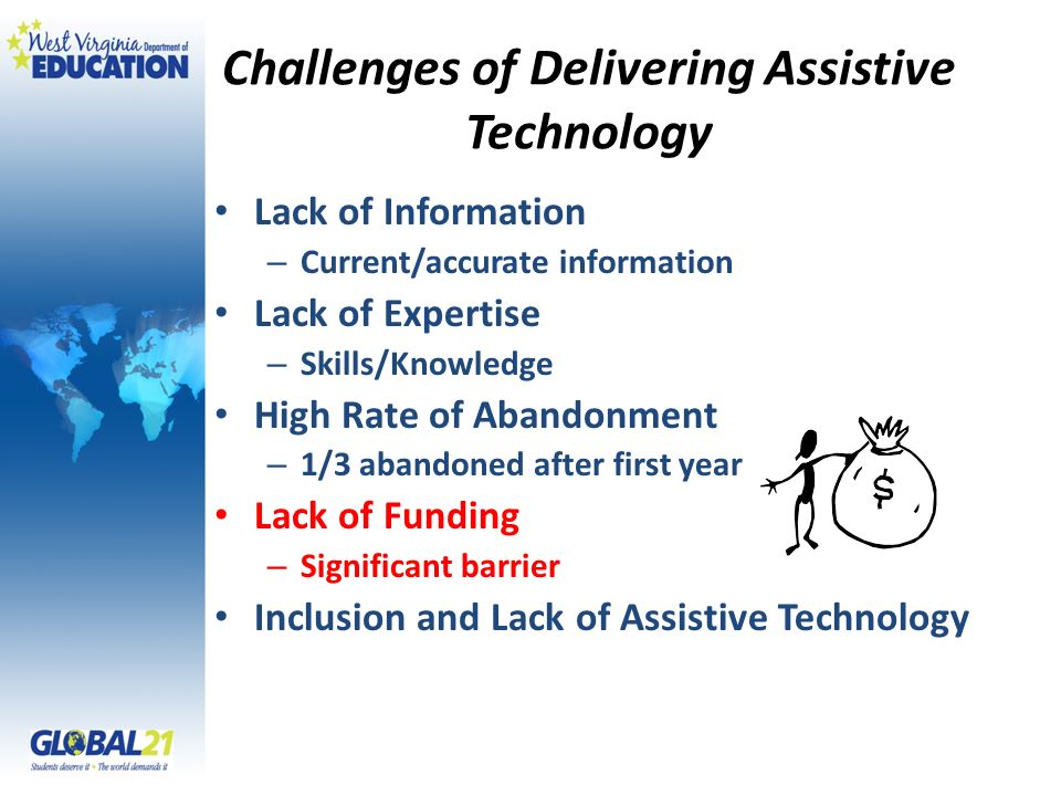 Challenges of Delivering Assistive Technology