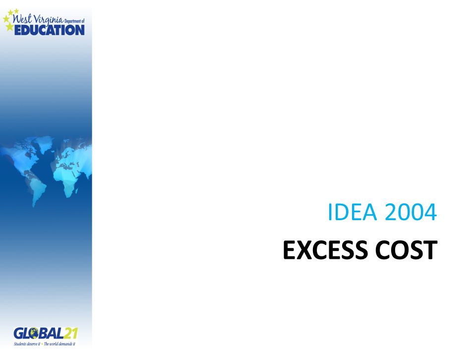 IDEA 2004 Excess Cost