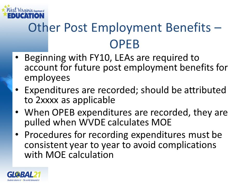 Other Post Employment Benefits – OPEB