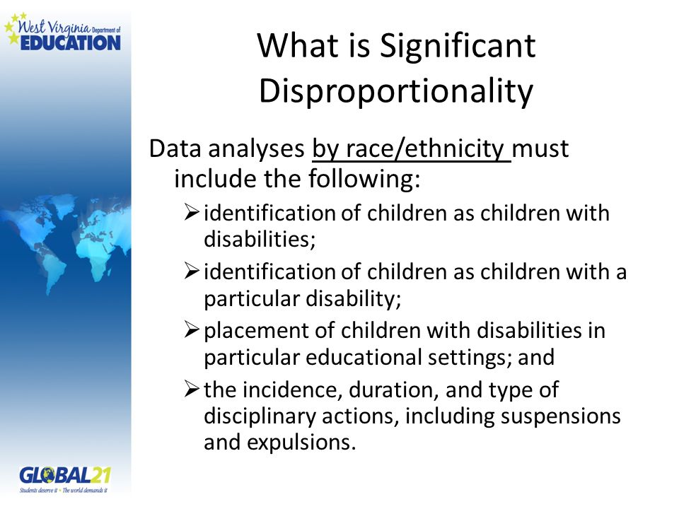 What is Significant Disproportionality