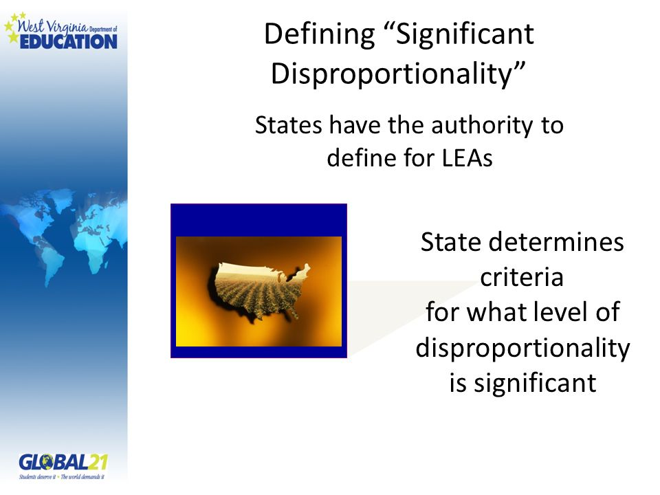 Defining Significant Disproportionality