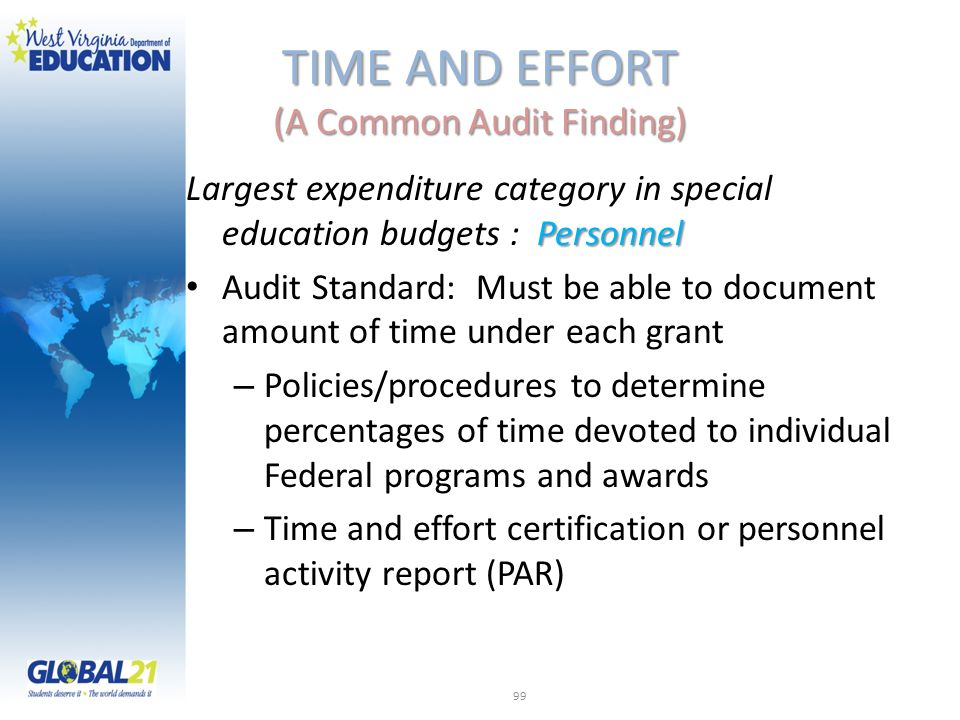 TIME AND EFFORT (A Common Audit Finding)