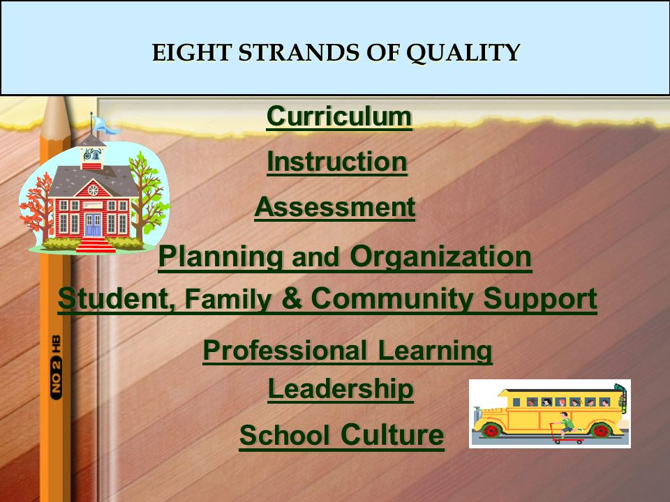 EIGHT STRANDS OF QUALITY