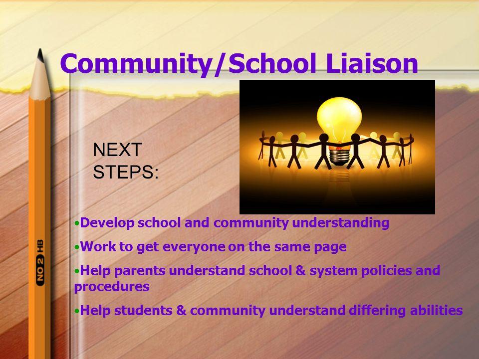 Community/School Liaison