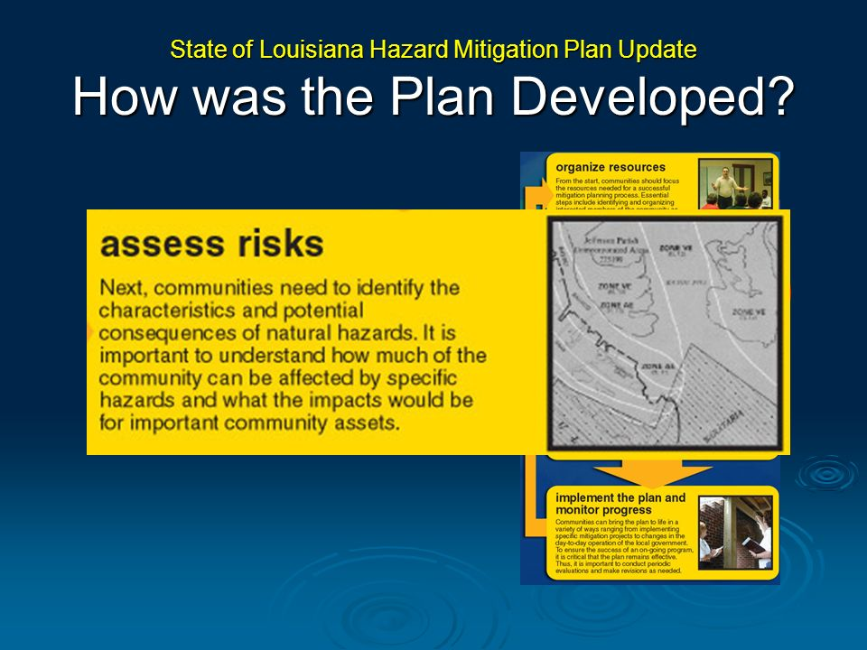 State of Louisiana Hazard Mitigation Plan Update How was the Plan Developed