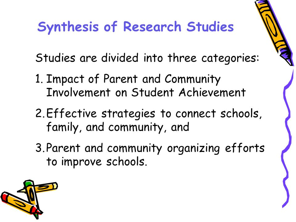 Research on Characteristics of High Performing Schools