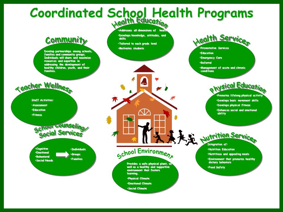 Coordinated School Health Programs