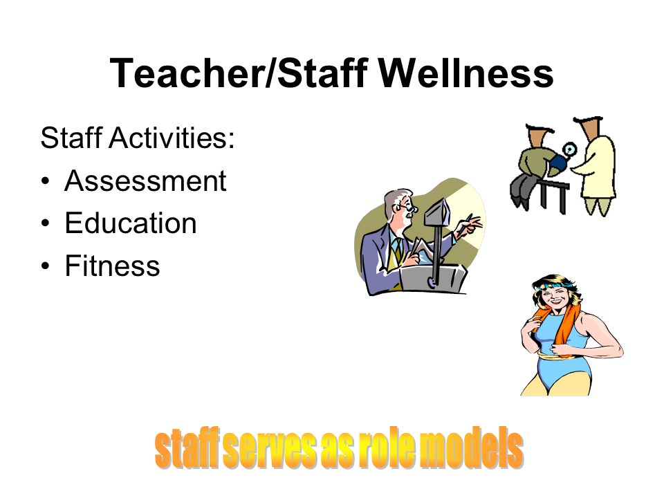Teacher/Staff Wellness