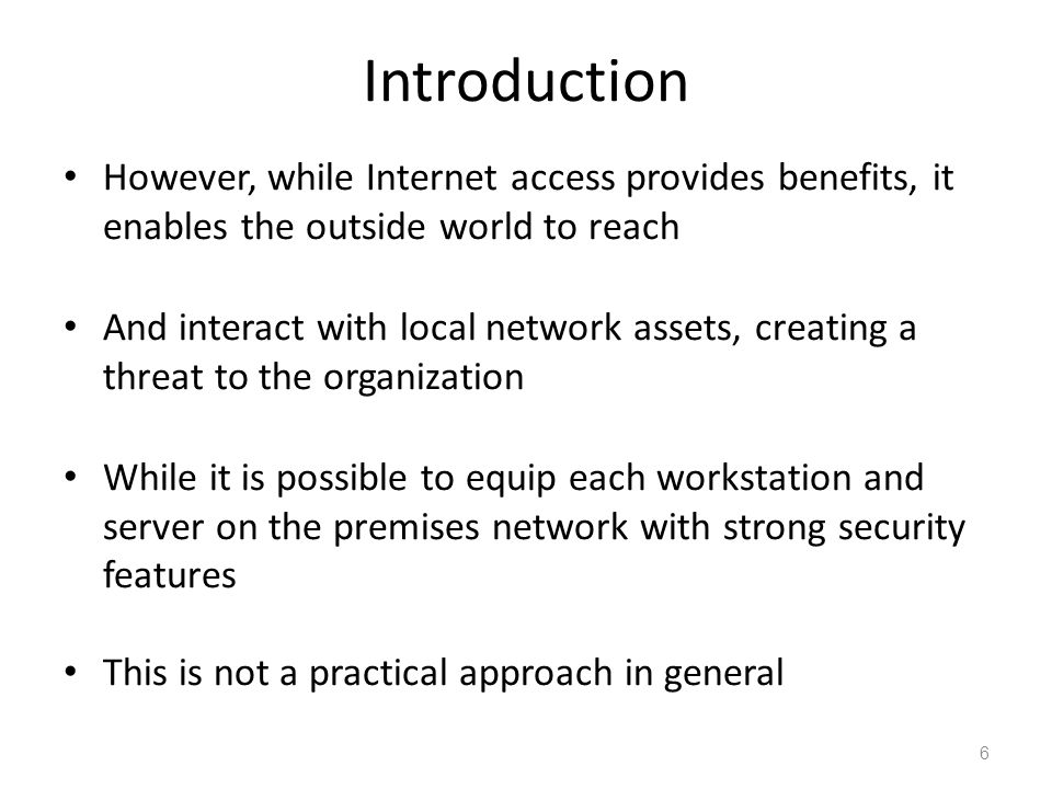 an introduction to the internet access in the world Forty years of the internet: how the world changed for ever instead of just allowing people to access the data on each other's terminals.