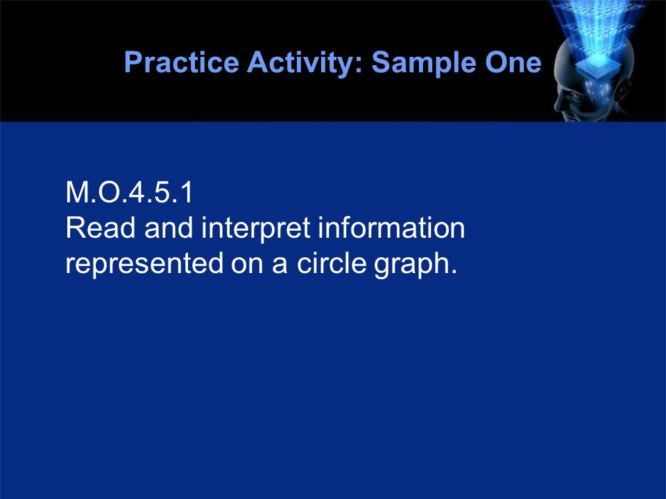 Practice Activity: Sample One