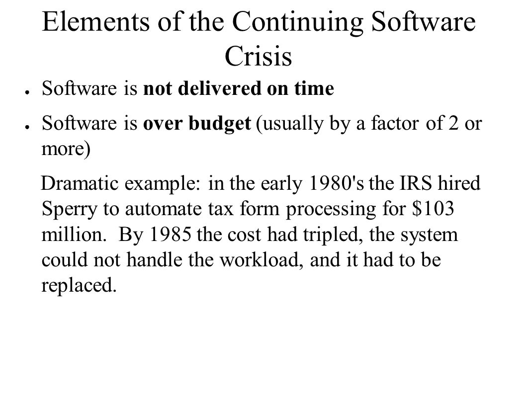 Software engineering ppt video online download for Tax document automation software