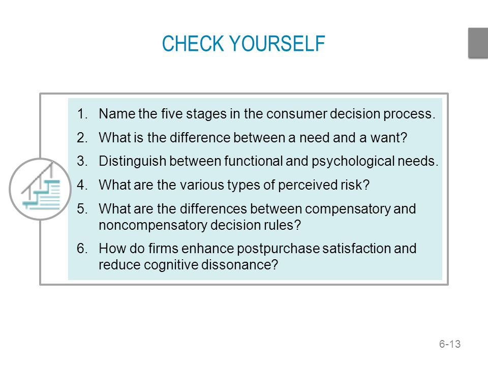 consumer behavior consumer decision process stages The consumer decision process has seven major stages which of the following is not one of these stages  if you wish to understand and influence consumer behavior you must have a grasp of which psychological process a learning d a and b b information processing e a, b, and c c attitude and behavior change  which of the following.