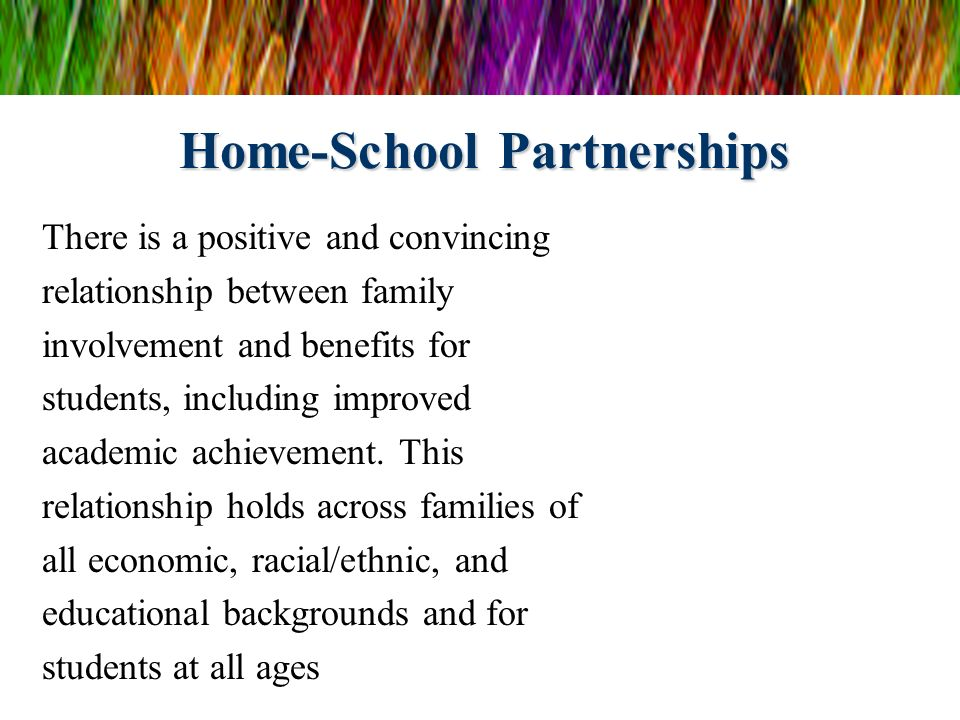 Home-School Partnerships