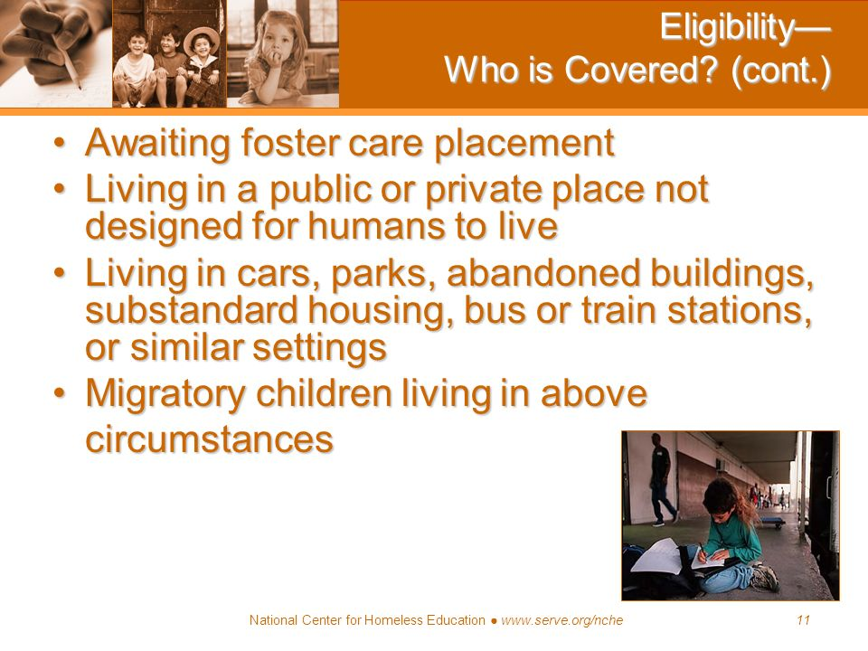 Eligibility— Who is Covered (cont.)