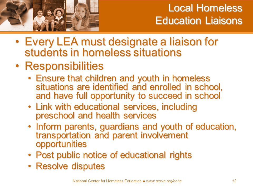 Local Homeless Education Liaisons