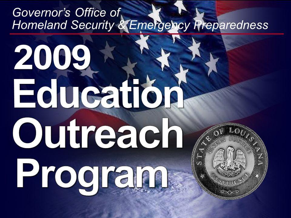 2009 Education Outreach Program