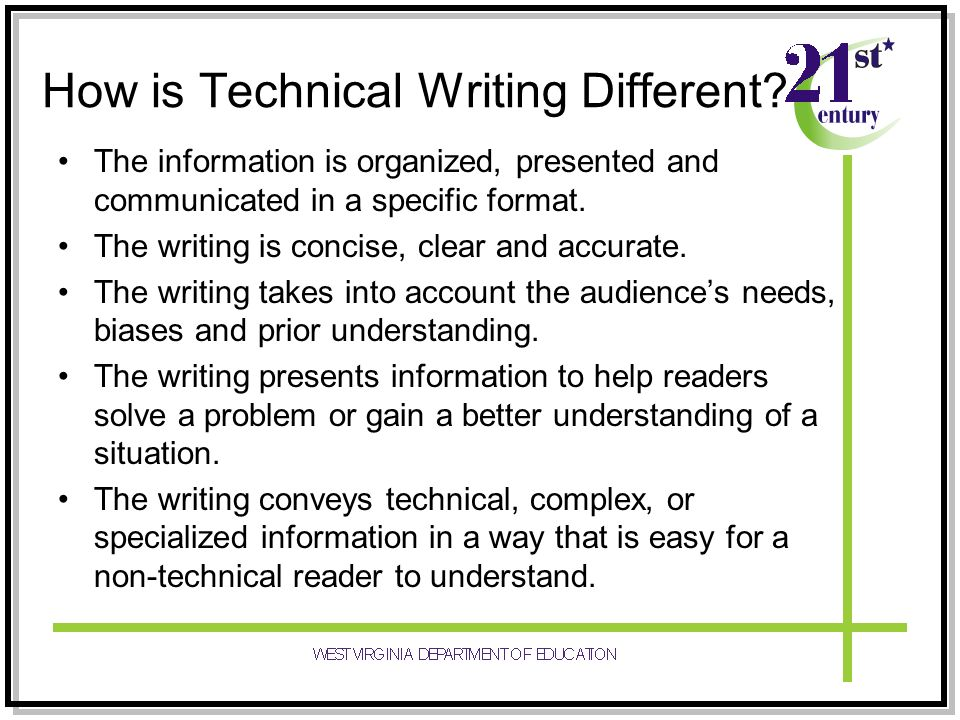 How is Technical Writing Different
