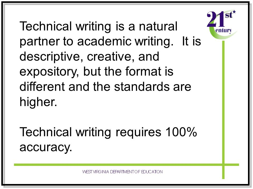 technical writing and creative writing People who searched for list of free online technical writing courses and training programs found the following related articles, links, and information useful.