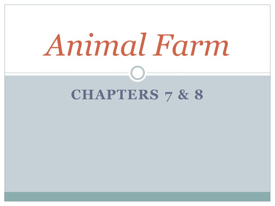 how many chapters is animal farm