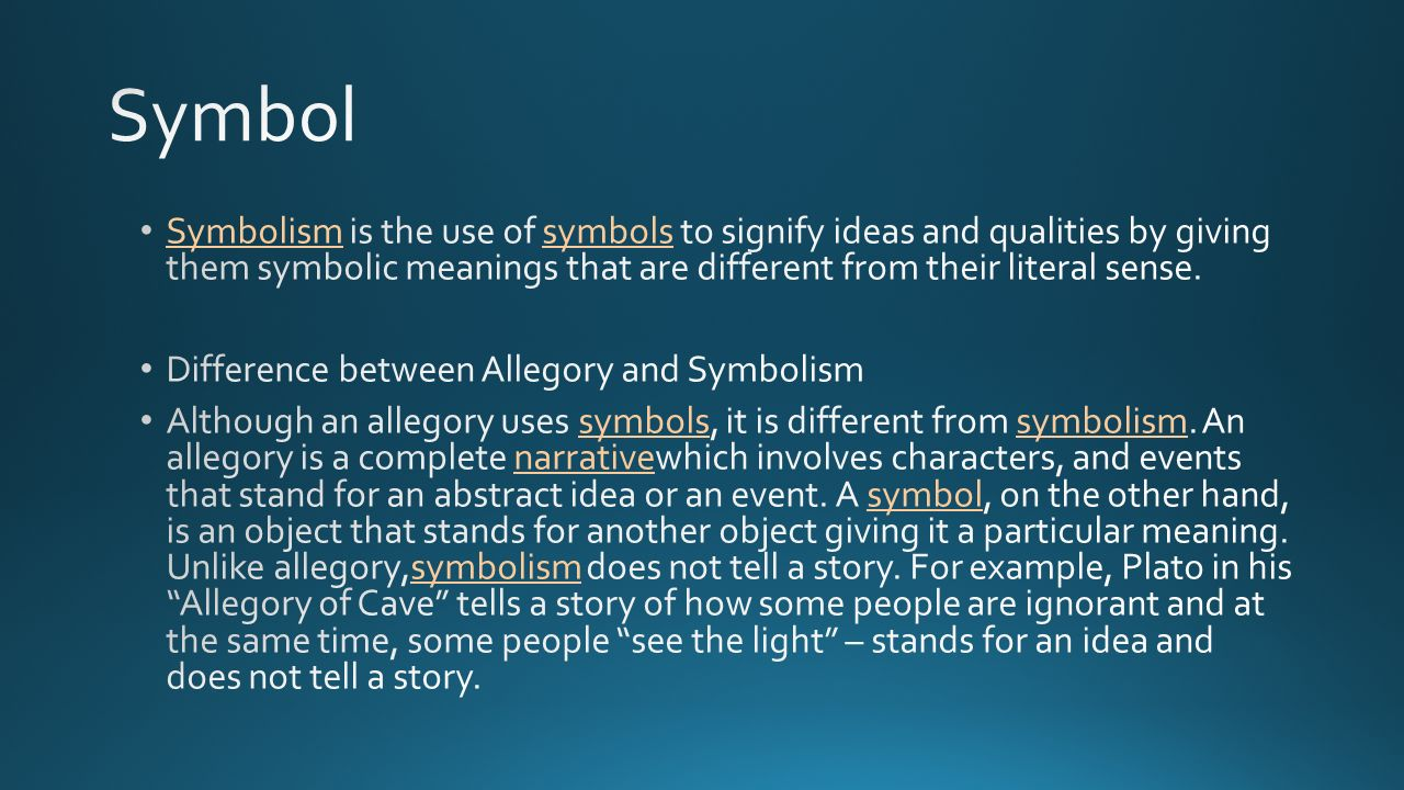 Key terms before we begin ppt video online download symbol symbolism is the use of symbols to signify ideas and qualities by giving them symbolic biocorpaavc Choice Image
