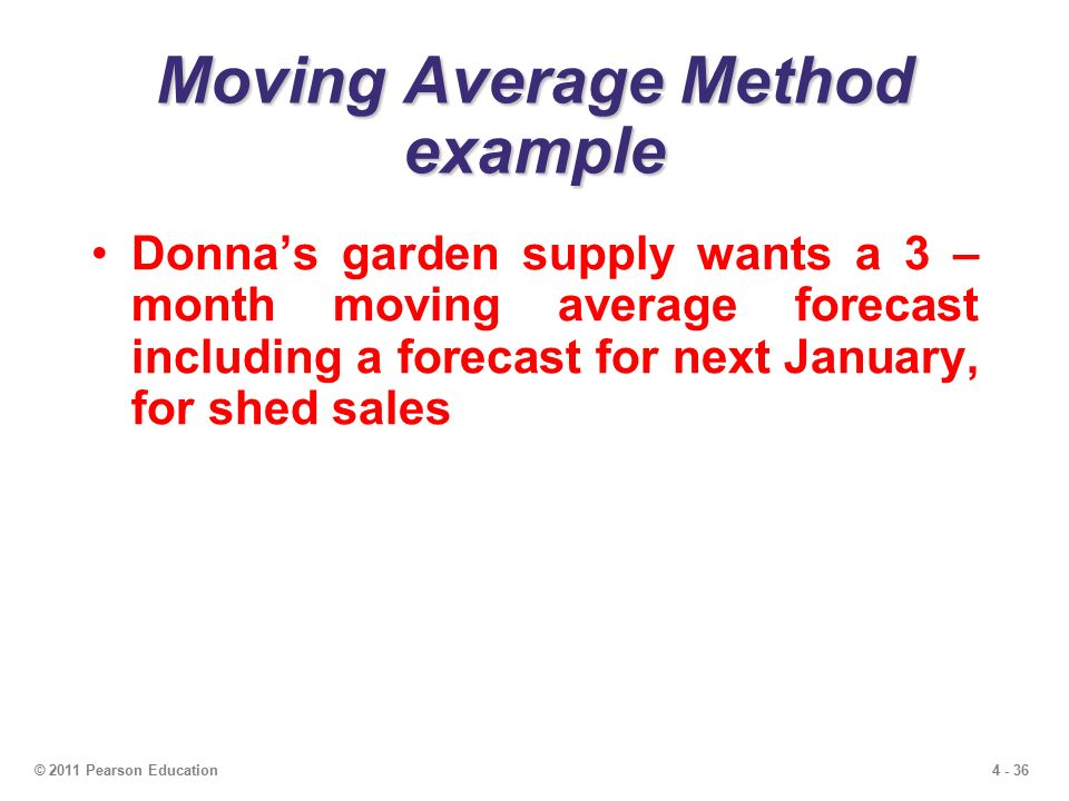 calculate a forecast using a simple three month moving average Using metrics applicable to your company, develop a 3 month and 5 month simple moving average forecast use at least one year's data explain what you are forecasting and why it is important to your company.