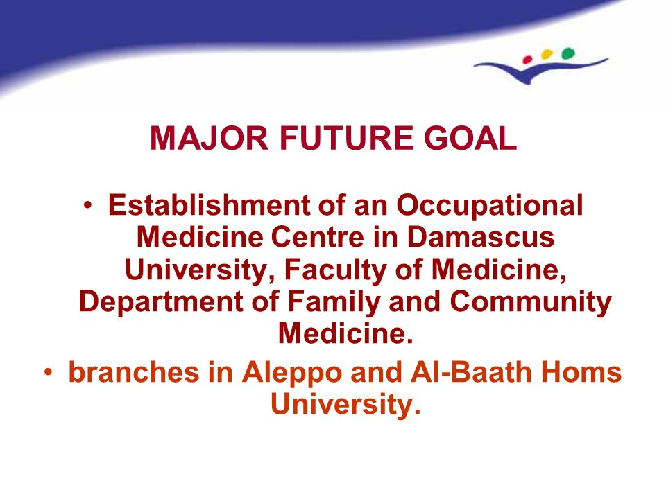 branches in Aleppo and Al-Baath Homs University.