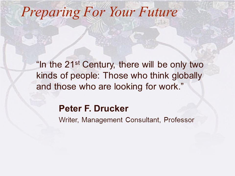 Preparing For Your Future
