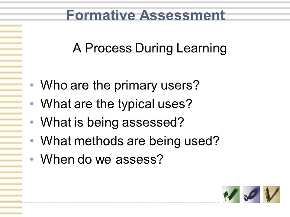 A Process During Learning
