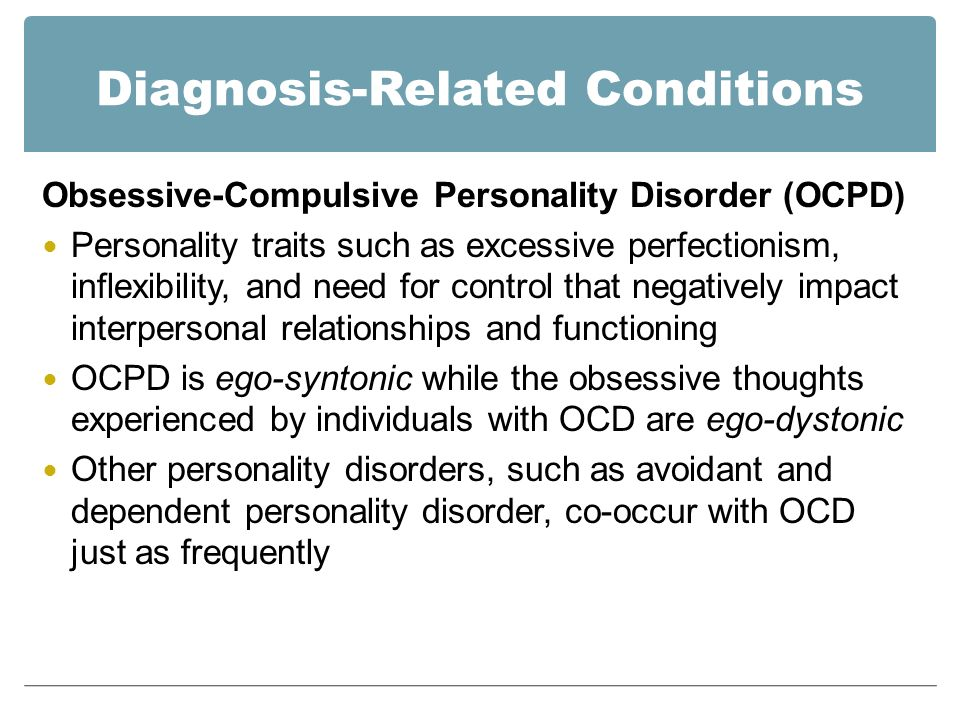 obsessive compulsive disorder term papers