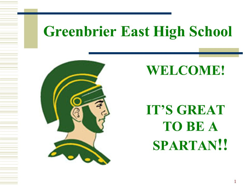Greenbrier East High School