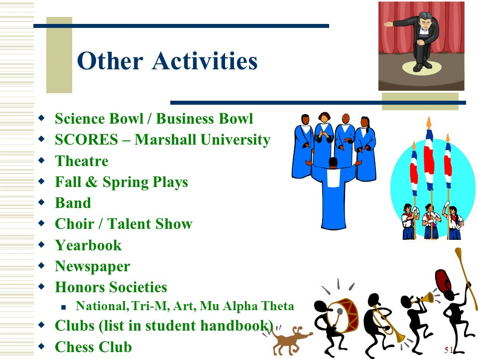 Other Activities Science Bowl / Business Bowl