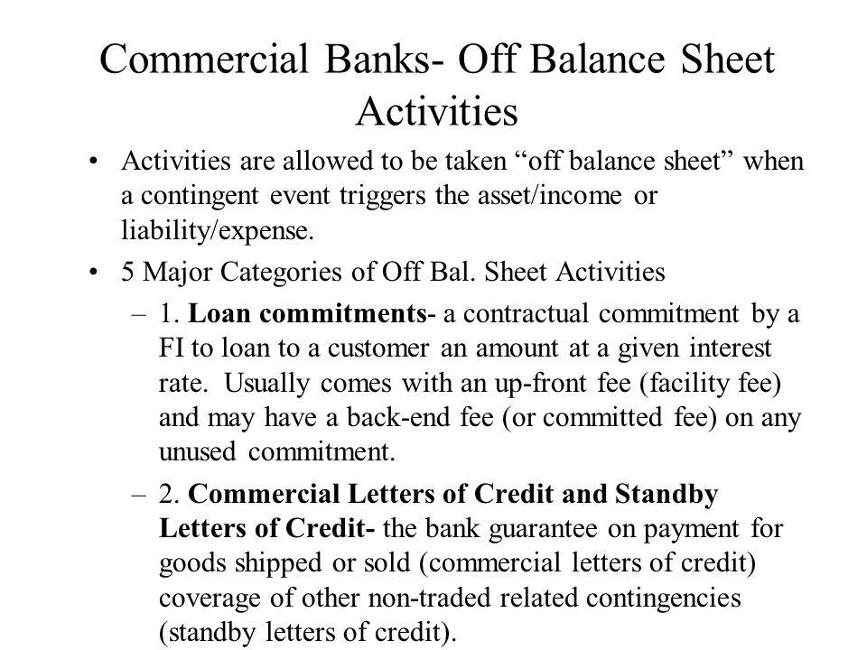 off balance sheet liabilities pdf