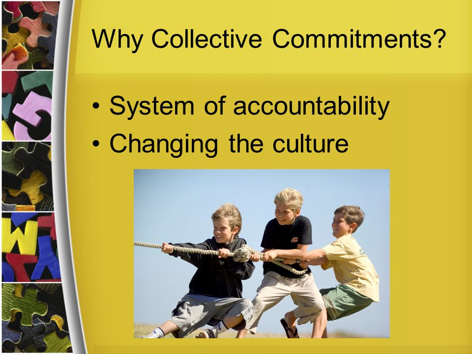 Why Collective Commitments