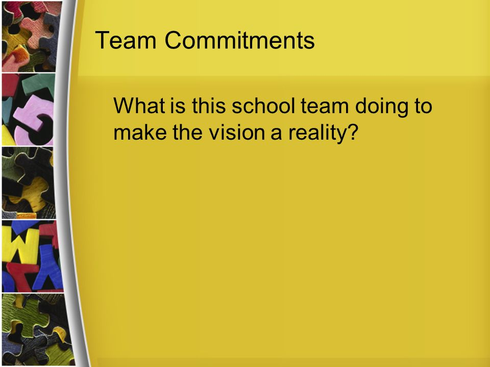 Title I School Improvment - Mission, Vision, Values and Goals