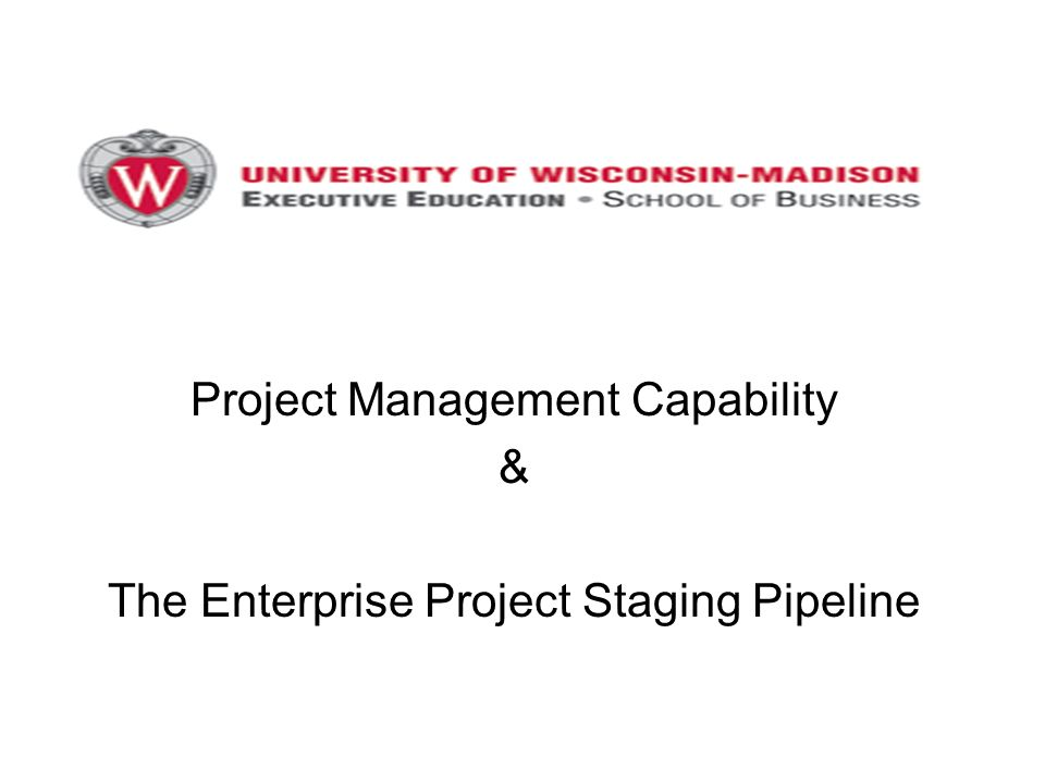Project Management Capability Ppt Video Online Download