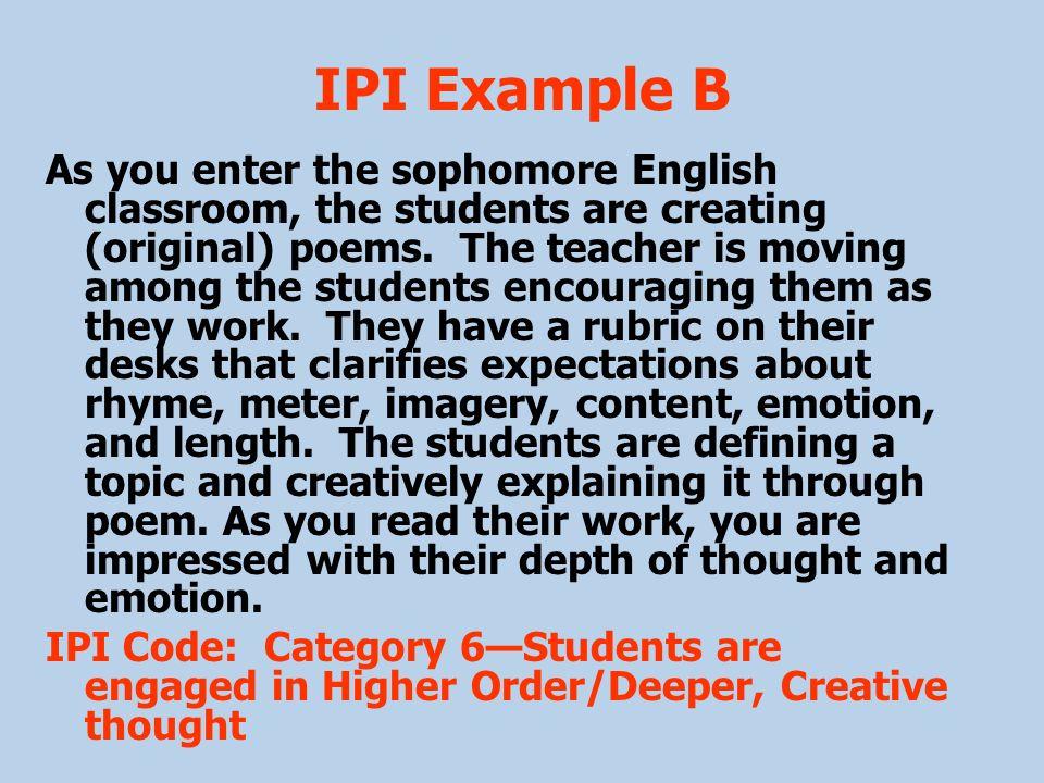 IPI Example B