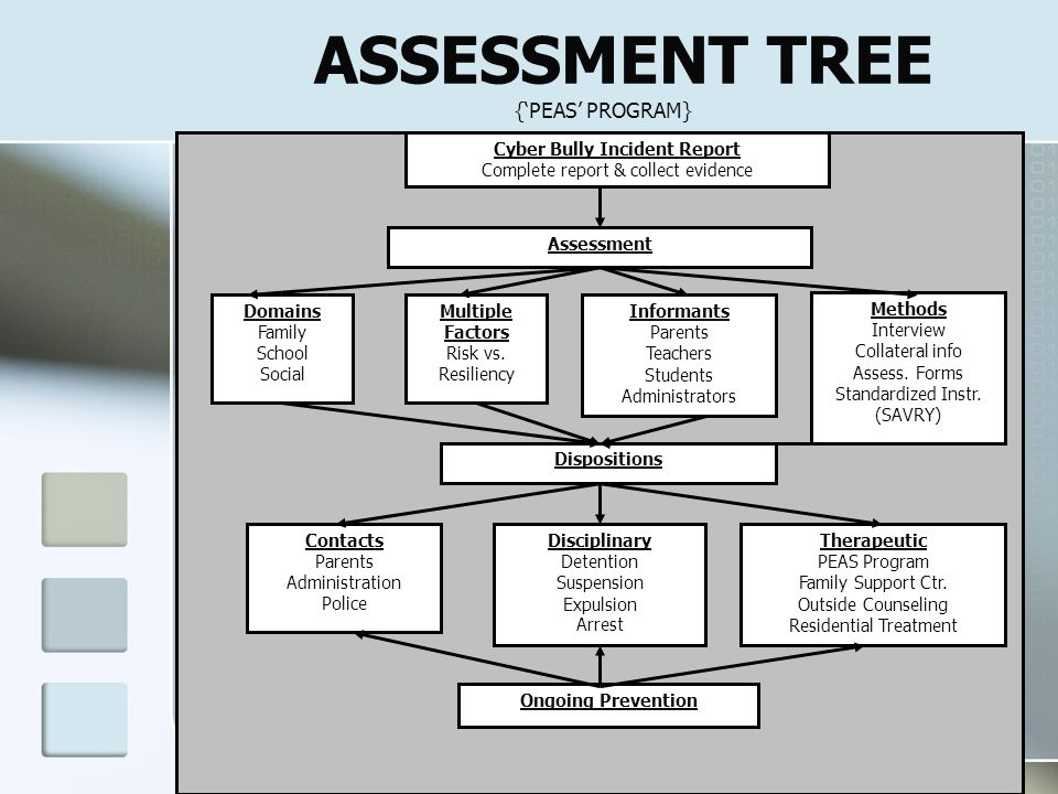 ASSESSMENT TREE {'PEAS' PROGRAM}