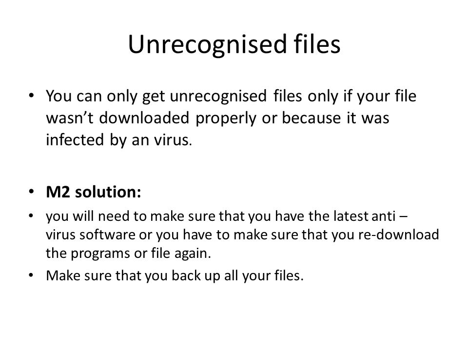 how to get files off an infected hard drive