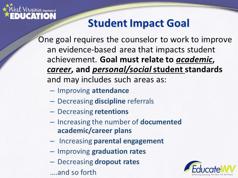 Student Impact Goal