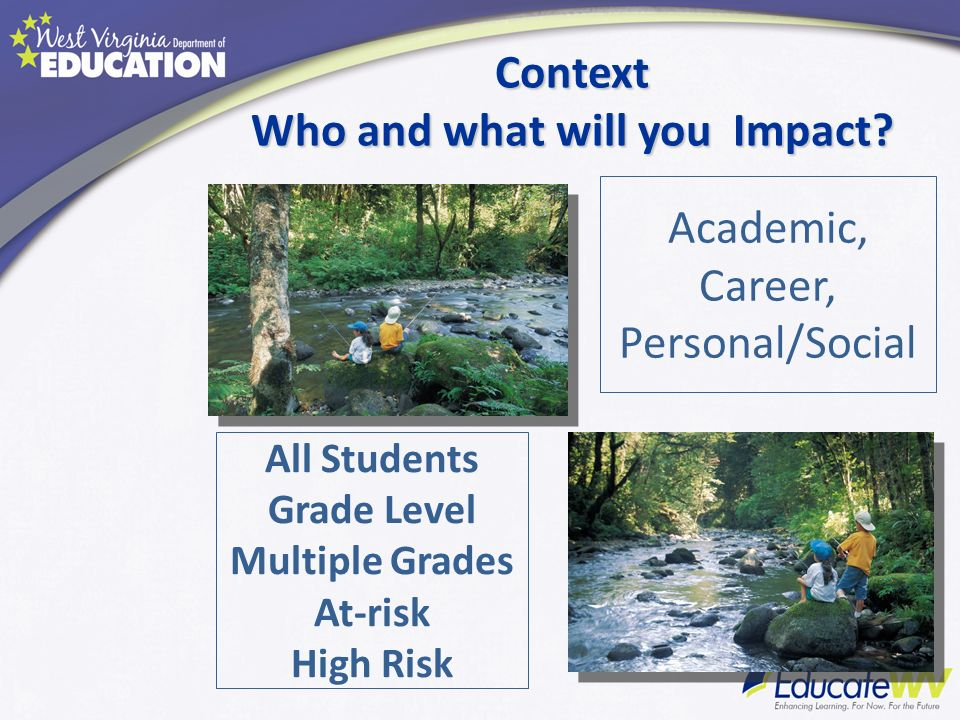 Context Who and what will you Impact